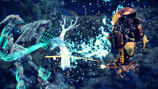 WARFRAME's Plains of Eidolon Quakes with 2 New Towering Figures of Myth and Power