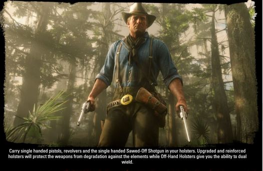 RED DEAD REDEMPTION 2 Details Weaponry with Stunning Gallery
