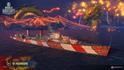 WORLD OF WARSHIPS Kicks Off Lunar New Year with Huge Gameplay Update