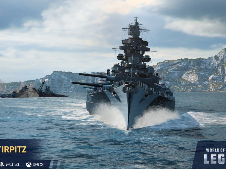 WORLD OF WARSHIPS: Legends Celebrates Full Release with ...