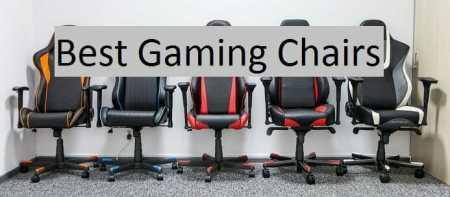 Best Gaming Chairs for the Comfortable Gaming Experience