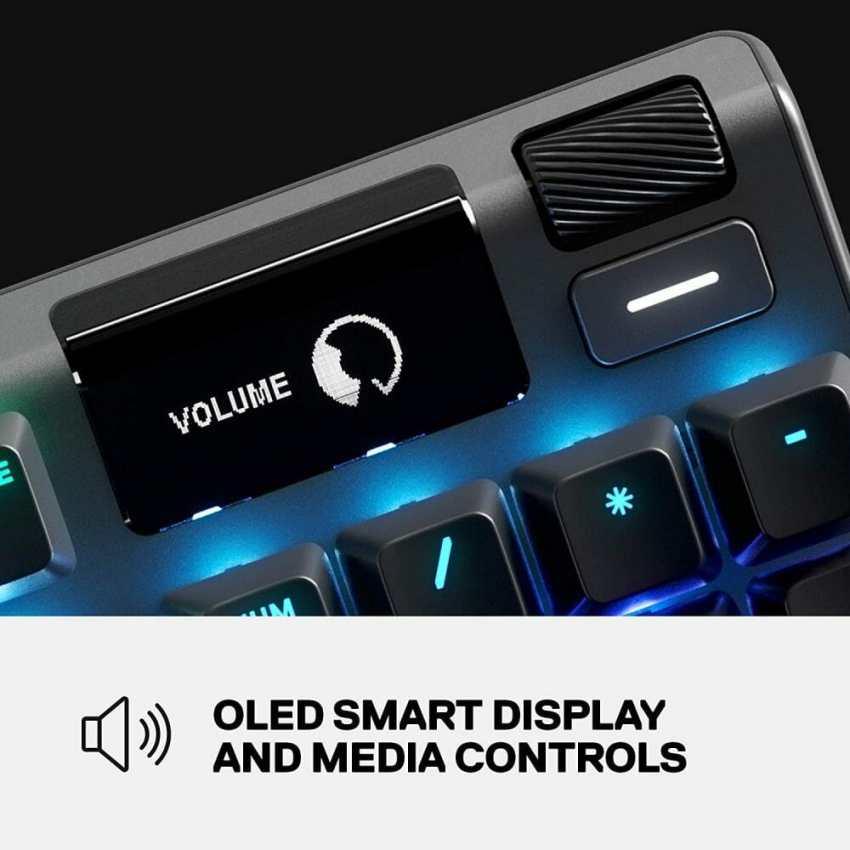 SteelSeries Apex Pro OLED display image