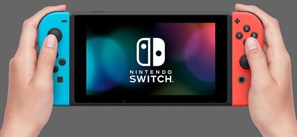 Nintendo Switch playing