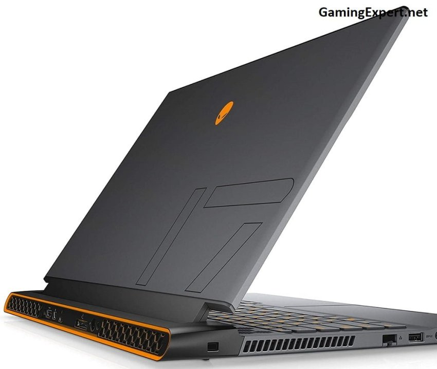 Alienware m17 R2 sideview