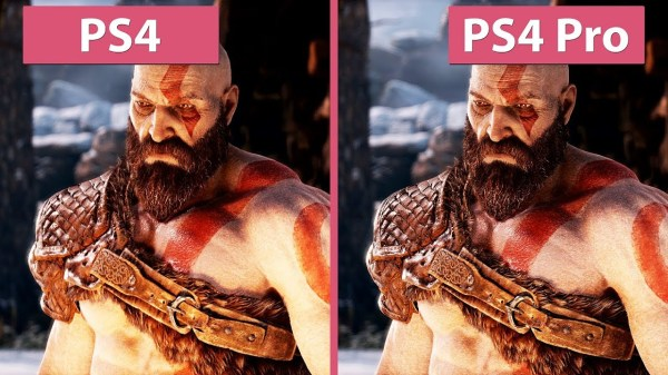 PS4 Pro vs PS4 picture quality