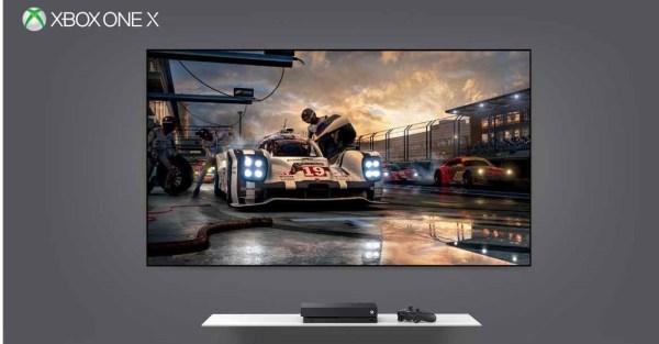 Xbox One X TV performance