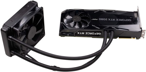 EVGA GeForce RTX 2080 Super Xc Hybrid Gaming