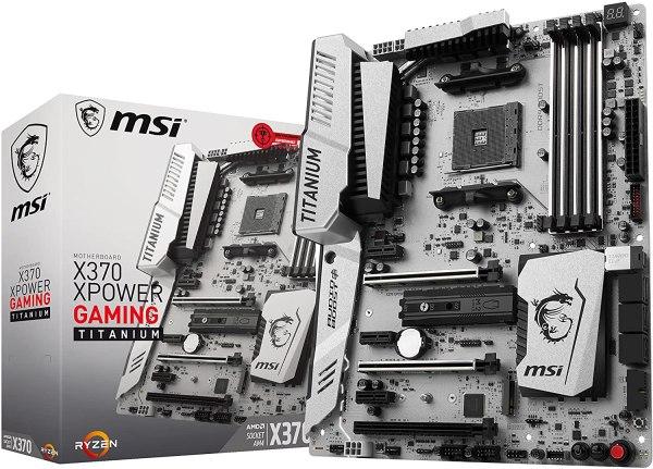 MSI X370 XPOWER Gaming Titanium AMD Ryzen X370 Gaming Motherboard