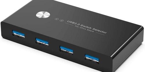 RYBOZEN USB 3.0 KVM Switch