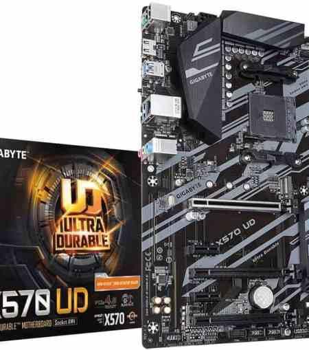 GIGABYTE X570 UD AMD Ryzen 5000/X570/ATX