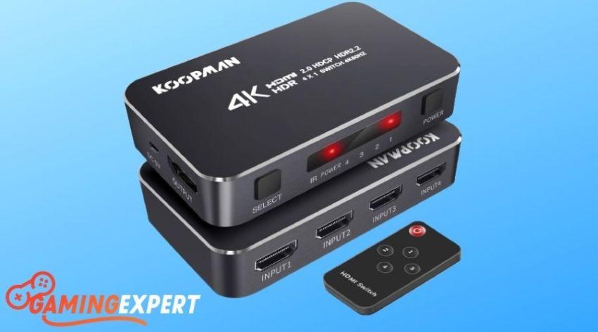Koopman 4K HDR HDMI Switch