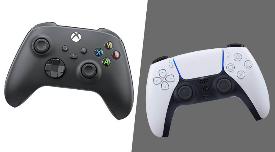 PS5 Vs Xbox Series X - controllers