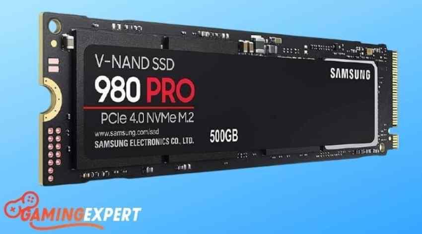 Samsung 980 PRO 500GB PCIe 4.0 NVMe M.2 SSD