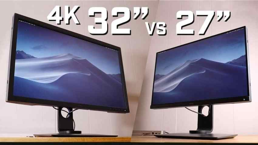 27inch and 32inch 4K gaming monitors