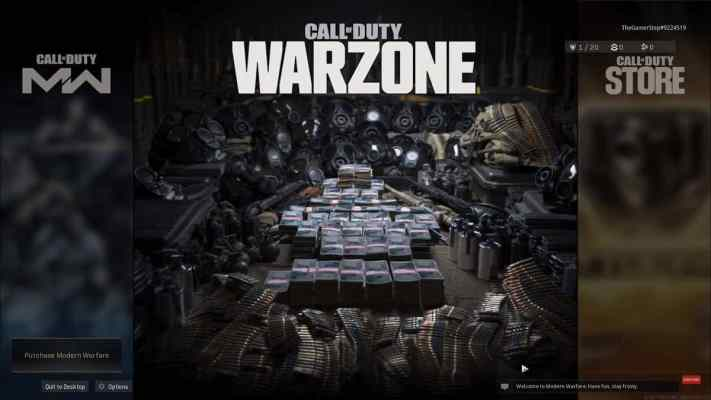 Call of Duty Warzone Main image