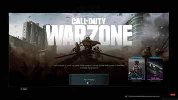 Call of Duty Warzone Title Image