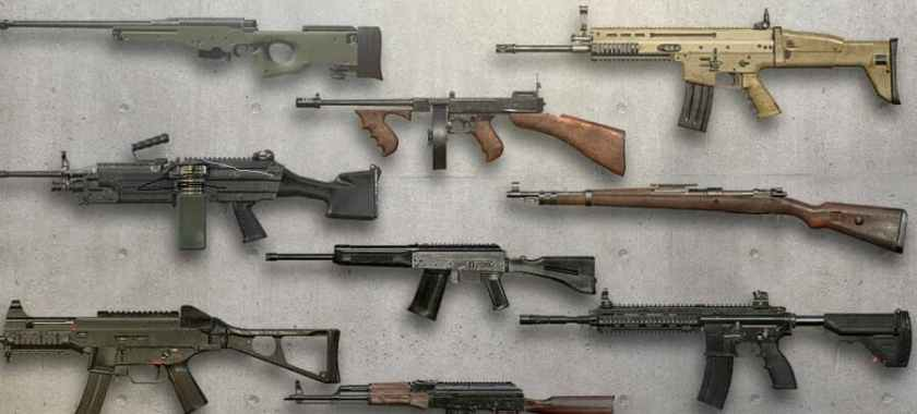 PUBG Weapons Gameplay
