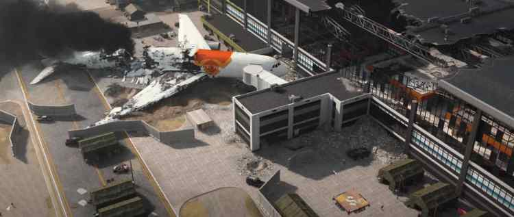 Plane Crash in Call of Duty Warzone