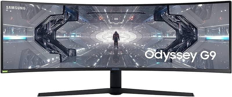 Samsung Odyssey G9 49inch ultrawide monitor