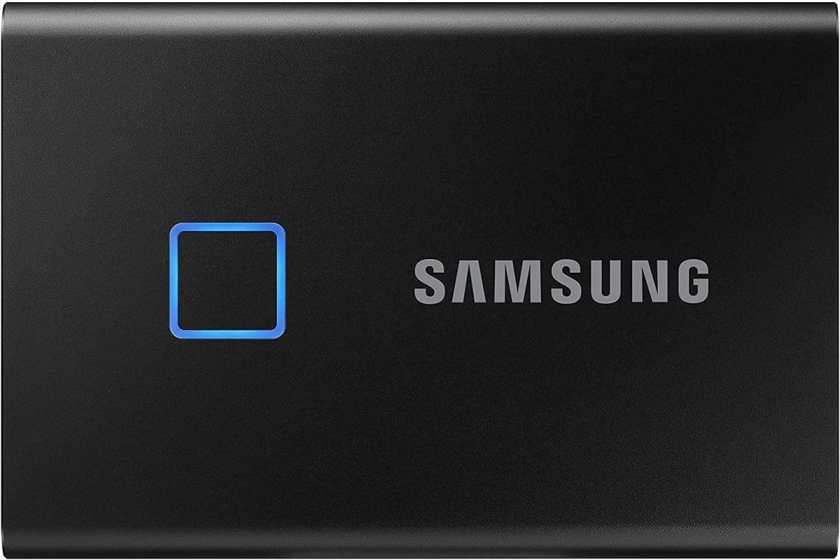 SAMSUNG T7 Touch Portable SSD black
