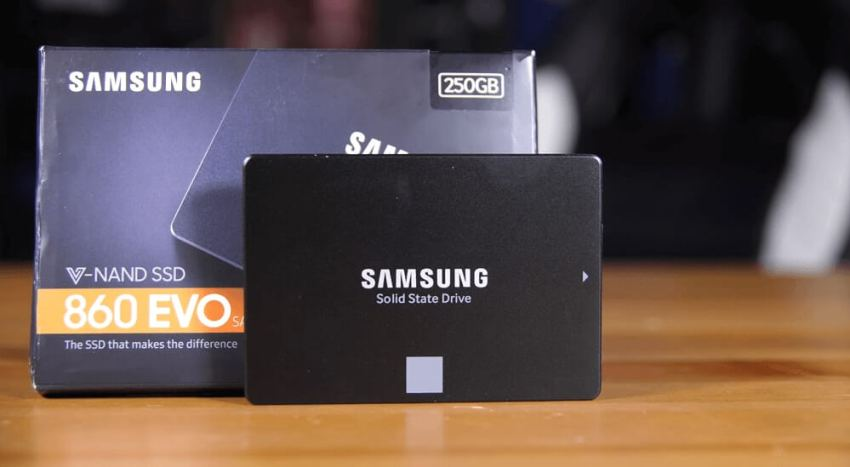 Samsung 860 EVO 250GB product box