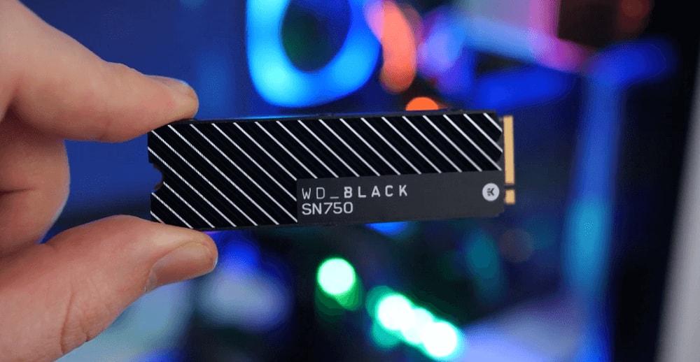 WD Black SN750 SSD -2