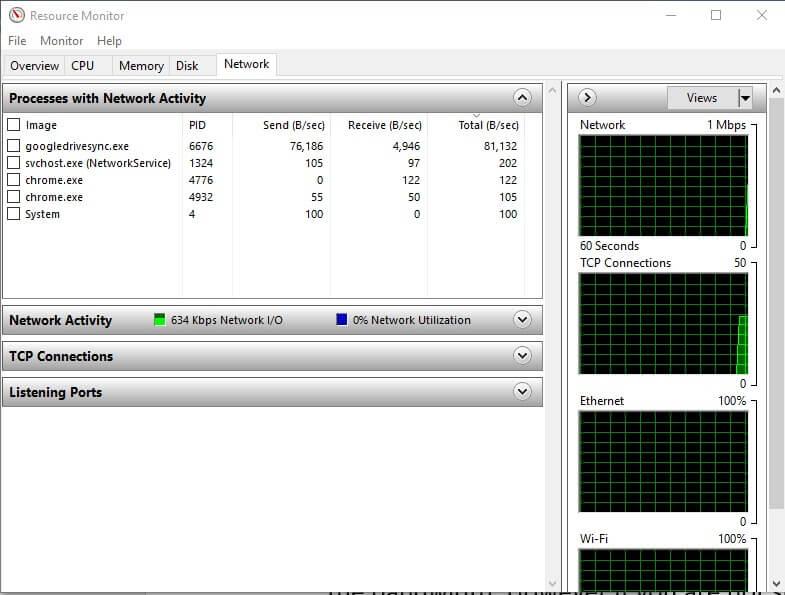 close applications causing low steam bandwidth 1