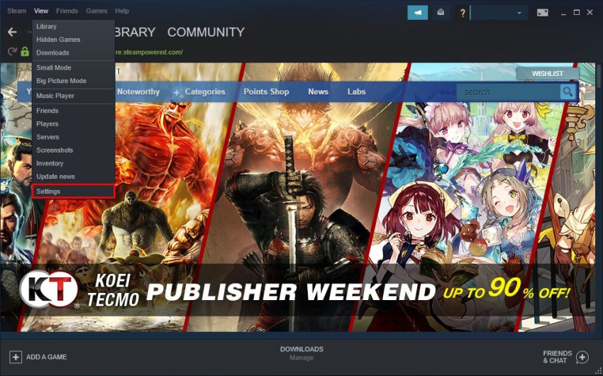 steam downloading slow fix