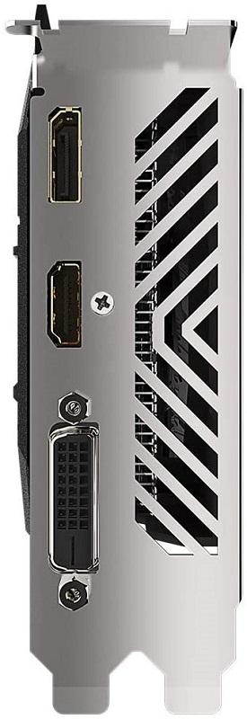 Gigabyte GTX 1650 Super WF OC ports