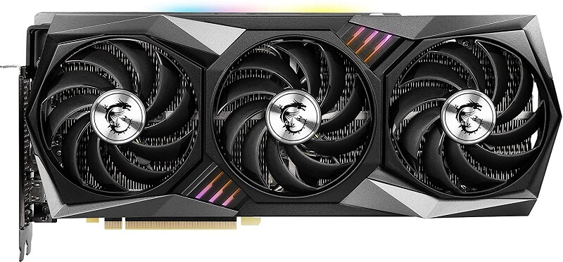 MSI Gaming X Trio GeForce RTX 3080 front