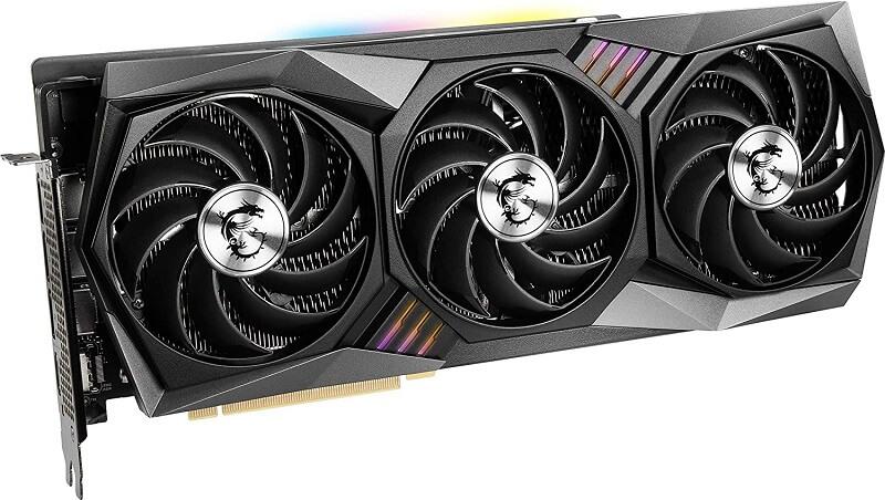 MSI Gaming X Trio GeForce RTX 3080 tripple fan