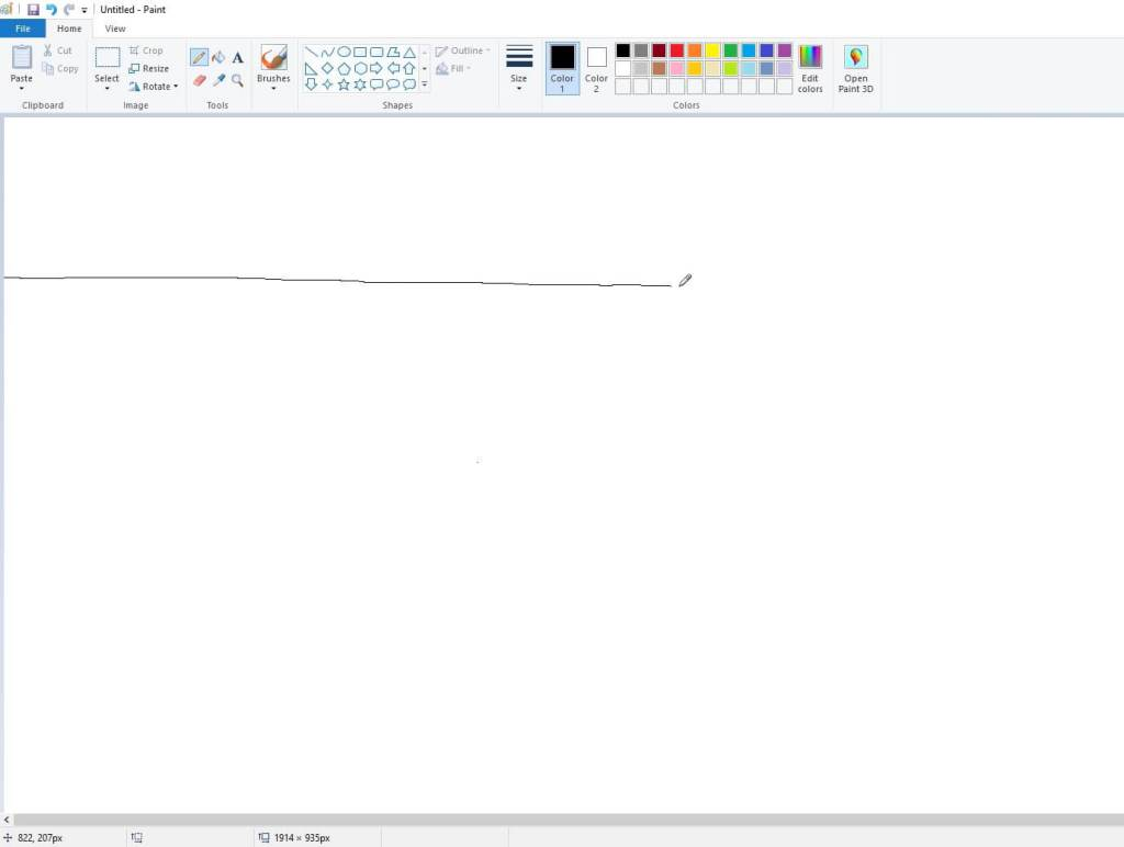 checking dpi on ms paint