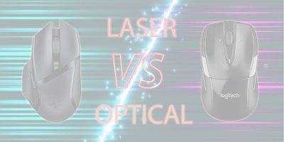 optical vs laser mice