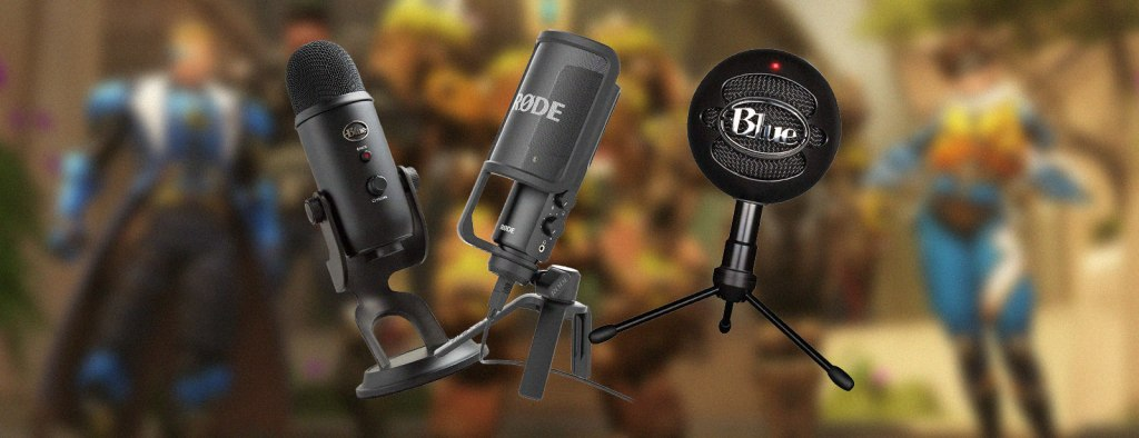 microphones for streaming twitch youtube