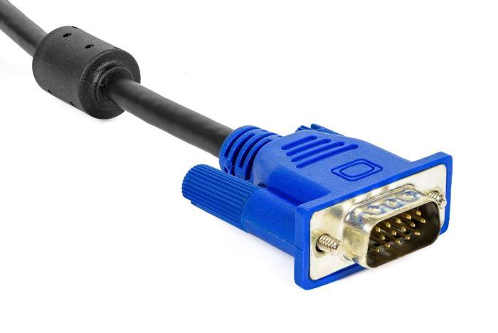 VGA plug