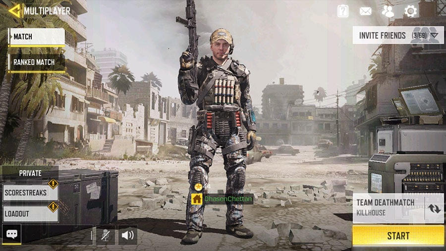 Best Loadout Call of Duty Mobile