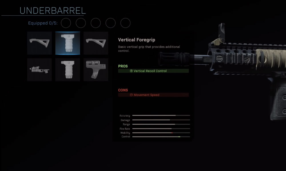 Vertical Foregrip​ modern warfare