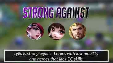 Mobile Legends Lylia Strong Against