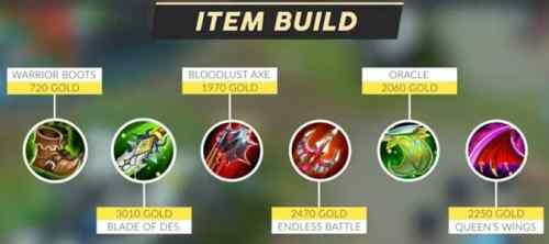 Mobile Legends Yu Zhong (Item Build) 2