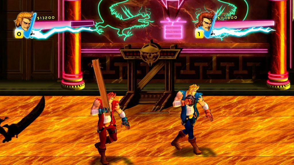Image result for double dragon neon press release images