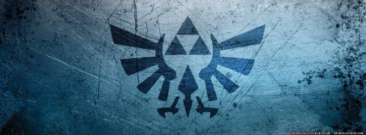 The Legend of Zelda Triforce Hyrule Crest Facebook Timeline Cover Photo