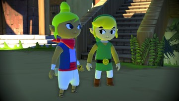 Link and Terra in HD for Windwaker Wii U