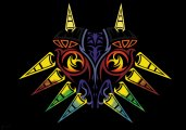 Majora's mask tribal