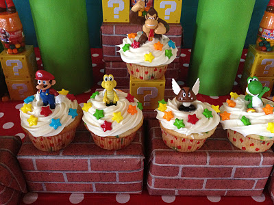 Nintendo cakes for party