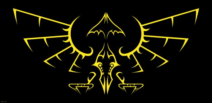 Hyrule emblem tribal design