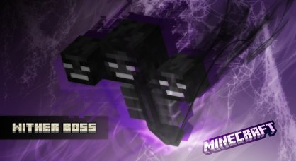 wither boss purple