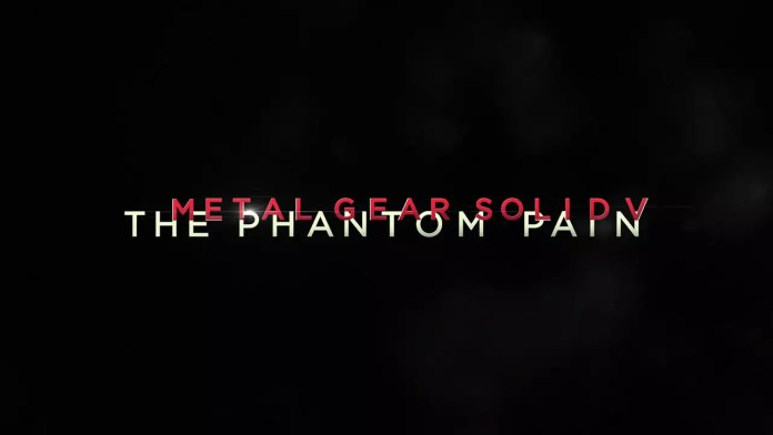 Metal Gear Solid V The Phantom Pain Logo