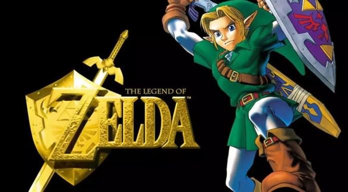 The Legend of Zelda Logo Art