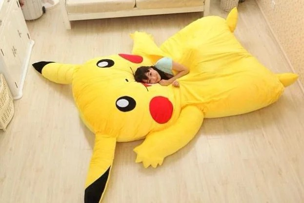 Pokemon Letto Pikachu 2