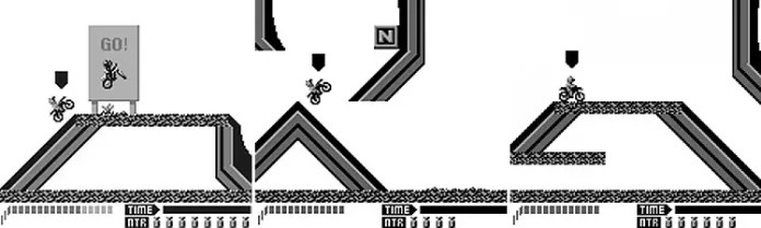 Motocross Maniacs Game Boy